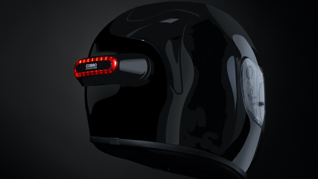 Cosmo Connected - Convert Any Helmet Into A Smart Helmet project video thumbnail
