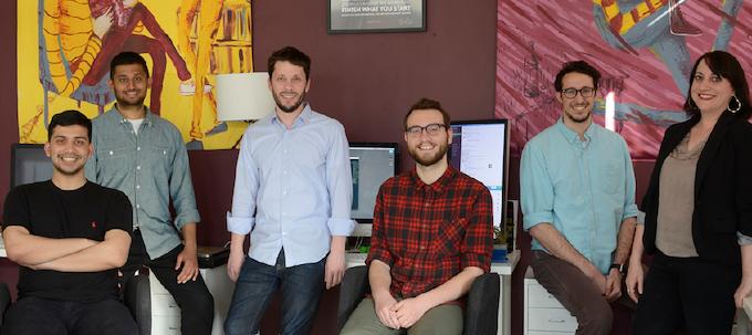 Baron Fig Team: Sam, Jay, Adam, Chandler, Joey, Andi