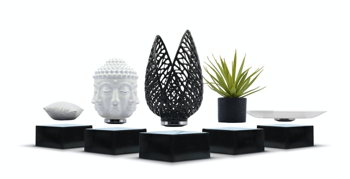 Usher your home into the 21st century with our collection of levitating plates, pillows, plants, and gravity defying works of art.