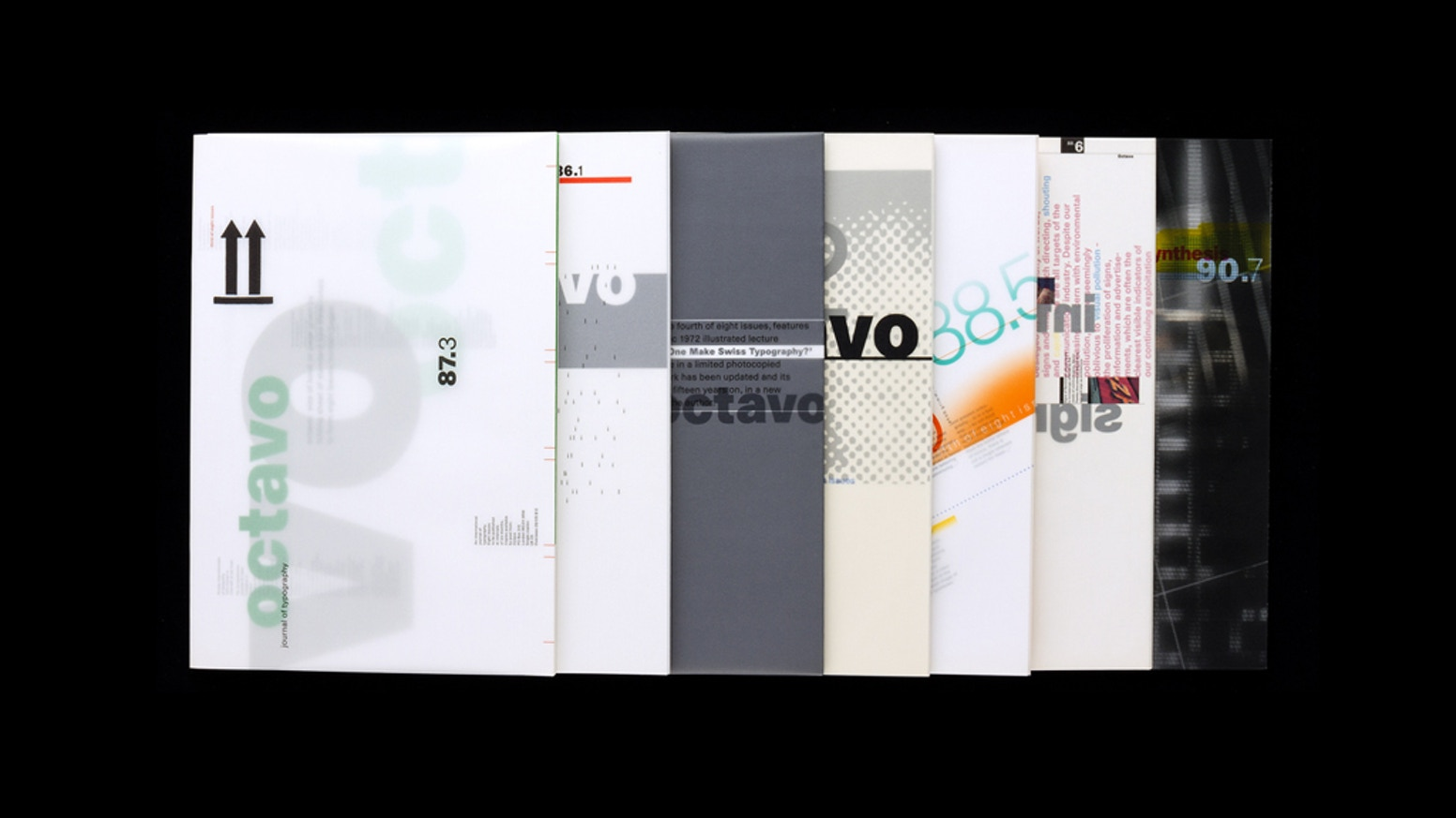 Octavo, International Journal of Typography, was published between 1986 and 1992. It has long been unobtainable. Until now.