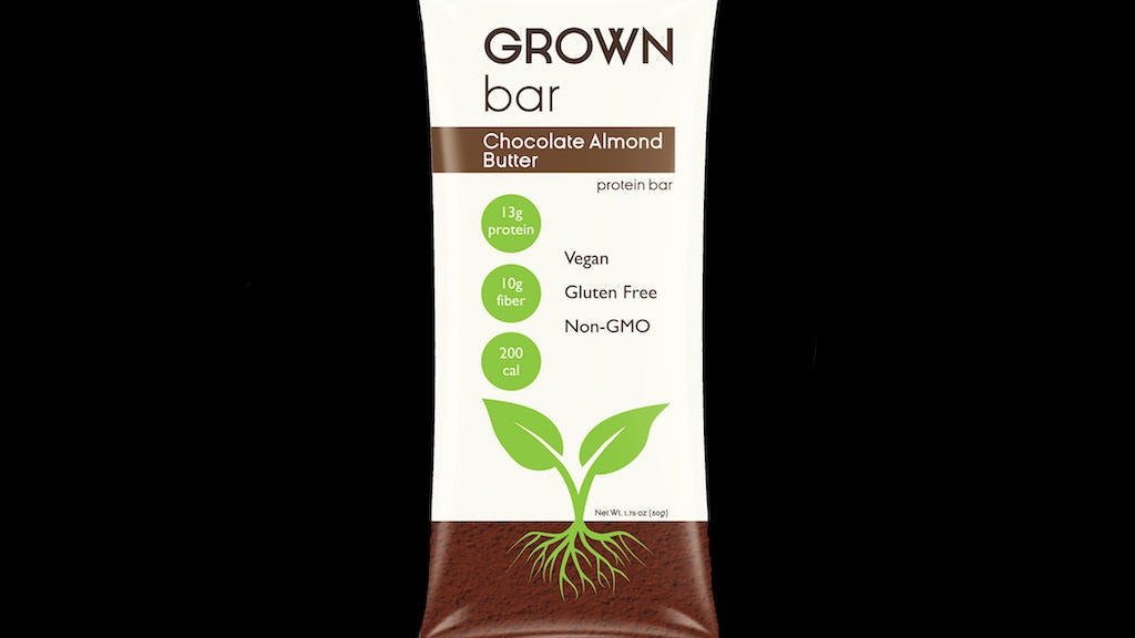Project image for Grown Bar: Plant-Based Protein Bar