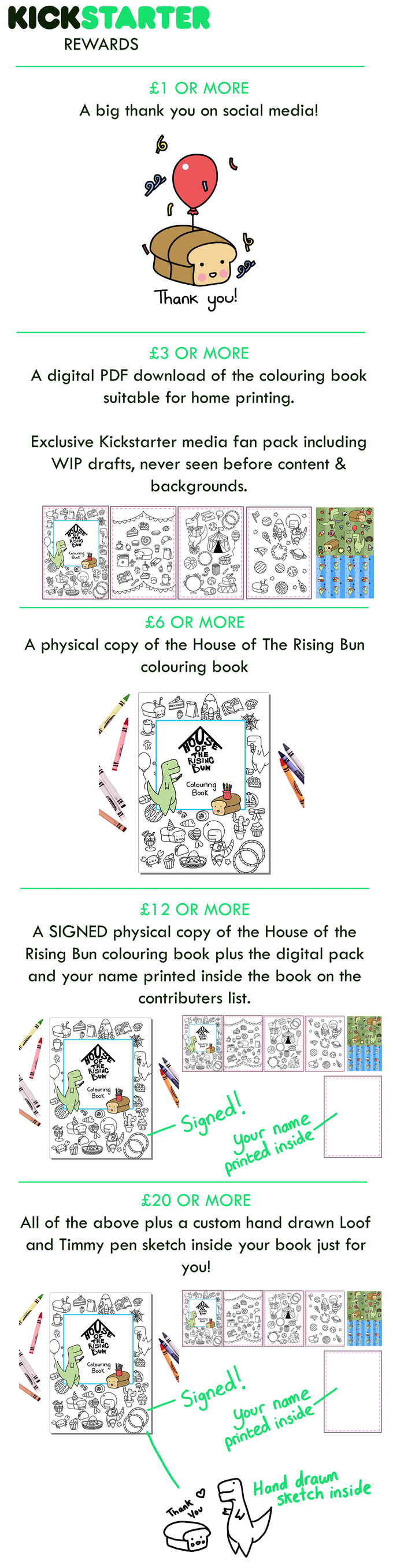 The Money From Your Generous Pledges Will Go Towards Covering Cost Of Printing Colouring Book Producing Adorably Cute