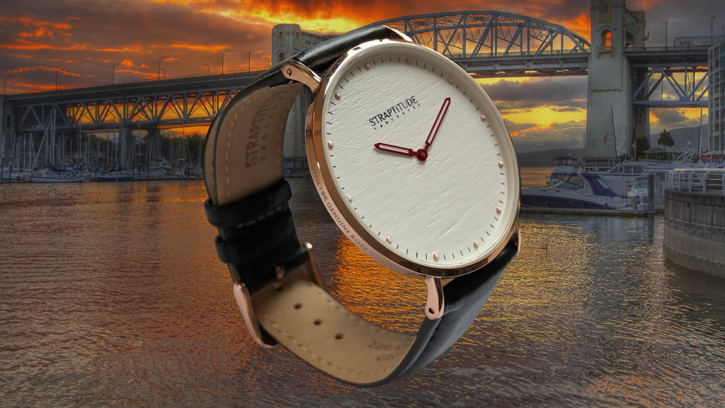 STRAPTiTUDE - Quality Watches plated with 18K Rose Gold project video thumbnail
