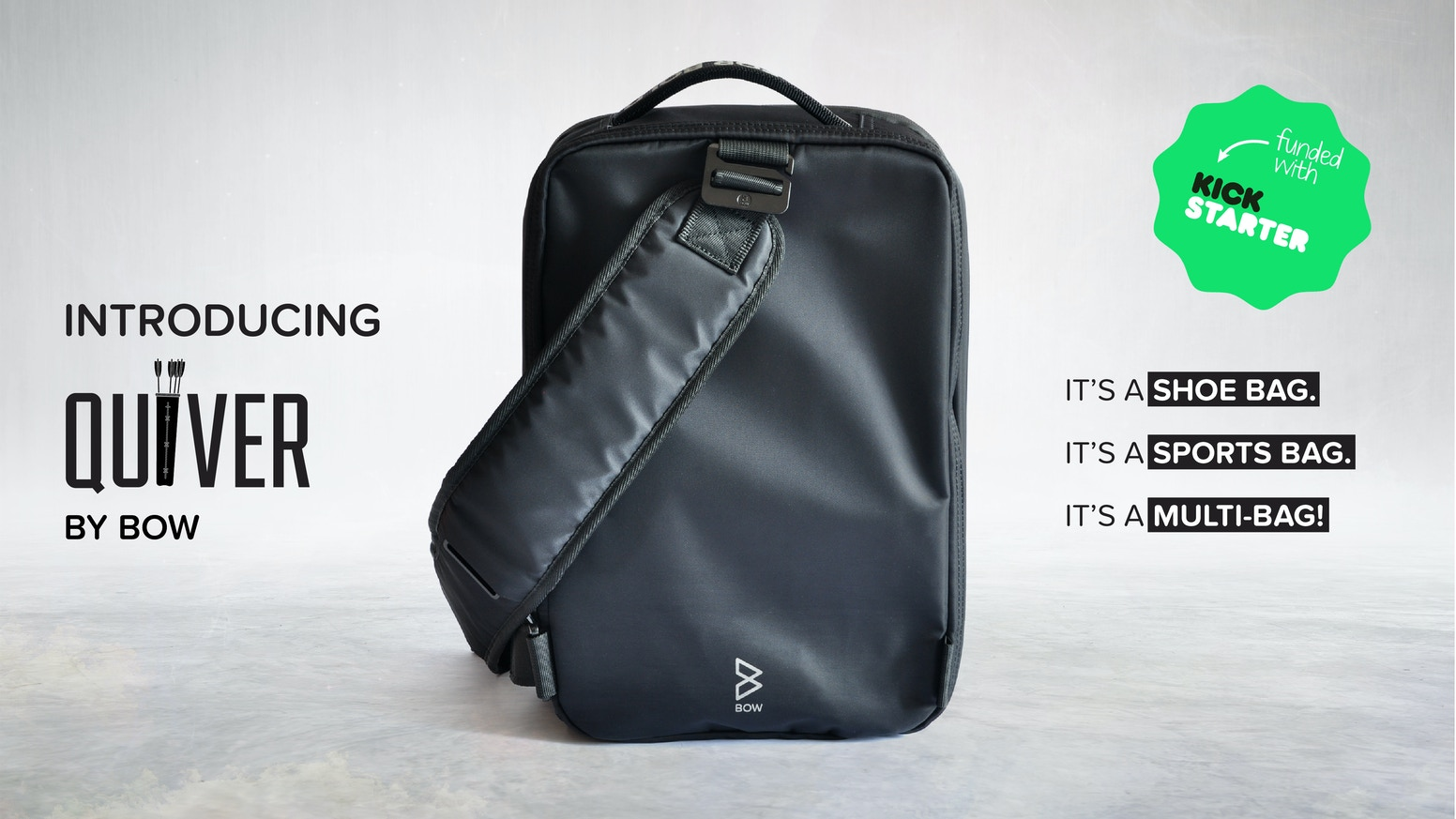 Quiver  The World s First Multi-Bag by BOW — Kickstarter 5c3c7537a6776