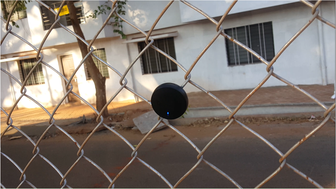 Coin in action for perimeter monitoring