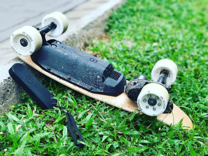 The Perfect Last Mile Vehicle. Ultra Portable and Surprisingly Powerful, the Arc Board will change the way you move everyday.