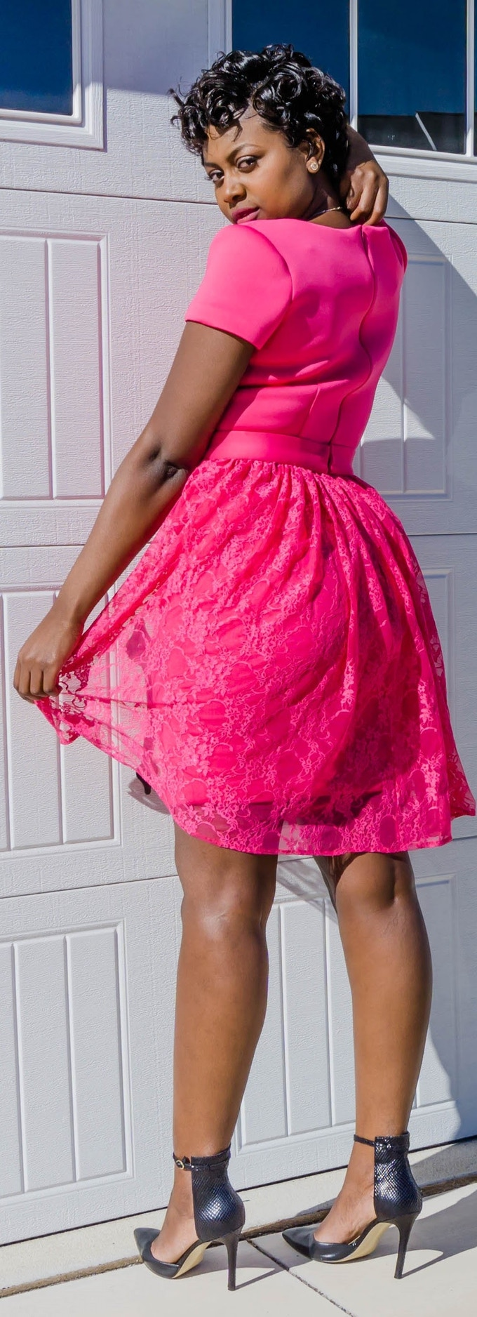 Add this beautiful lace to your La Cherie dress