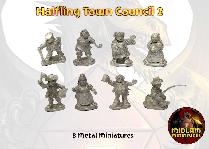 The Halfling Town Council 2