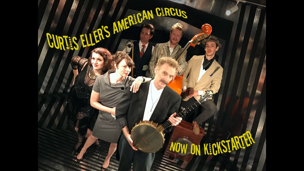 A new album from Curtis Eller's American Circus project video thumbnail