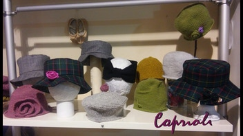 Limited edition of handmade hats made in italy
