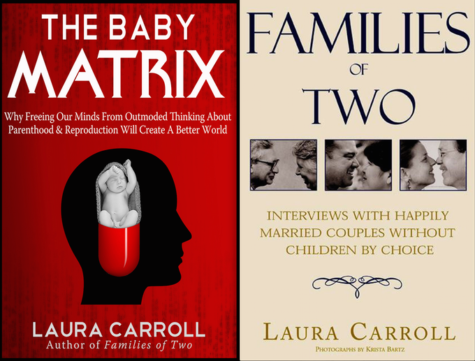 Bundle of two books personally signed by Laura Carroll