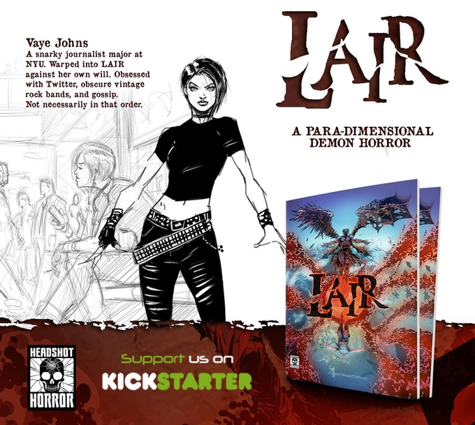 Please Download Image and Share LAIR Across Social Media