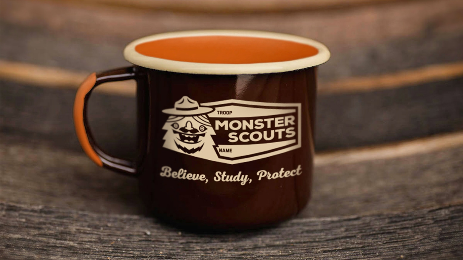 Monster Scouts: Nerds in nature. Campaign: New Badges, Handbook, an Enamel Camp Cup, and pin. Keep us moving ahead!
