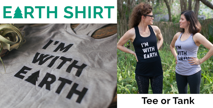Super soft tees printed with water-based inks :)