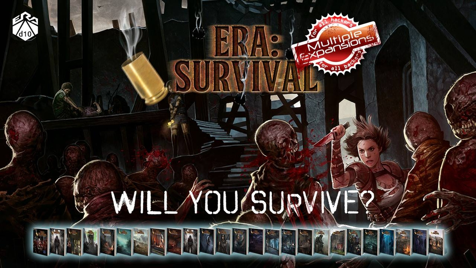 The critically acclaimed Survival Horror RPG returns to Kickstarter with expansions, as well as a £1 Rulebook Primer to try the game!