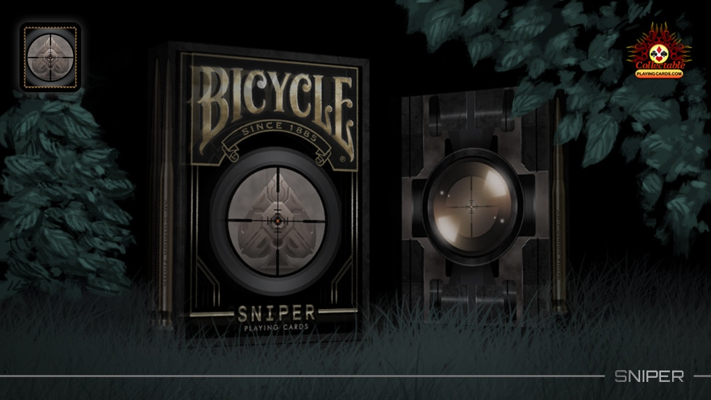 Project image for Bicycle Sniper Playing Cards