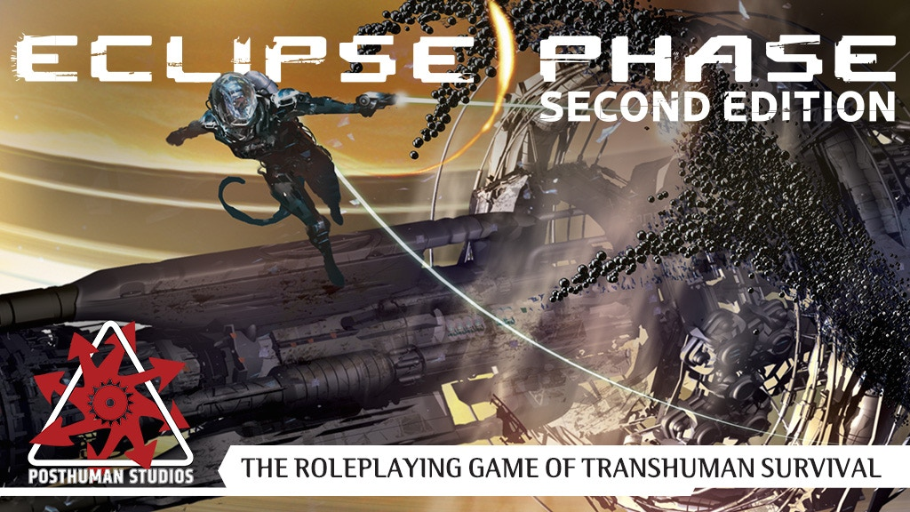 Eclipse Phase, Second Edition RPG project video thumbnail