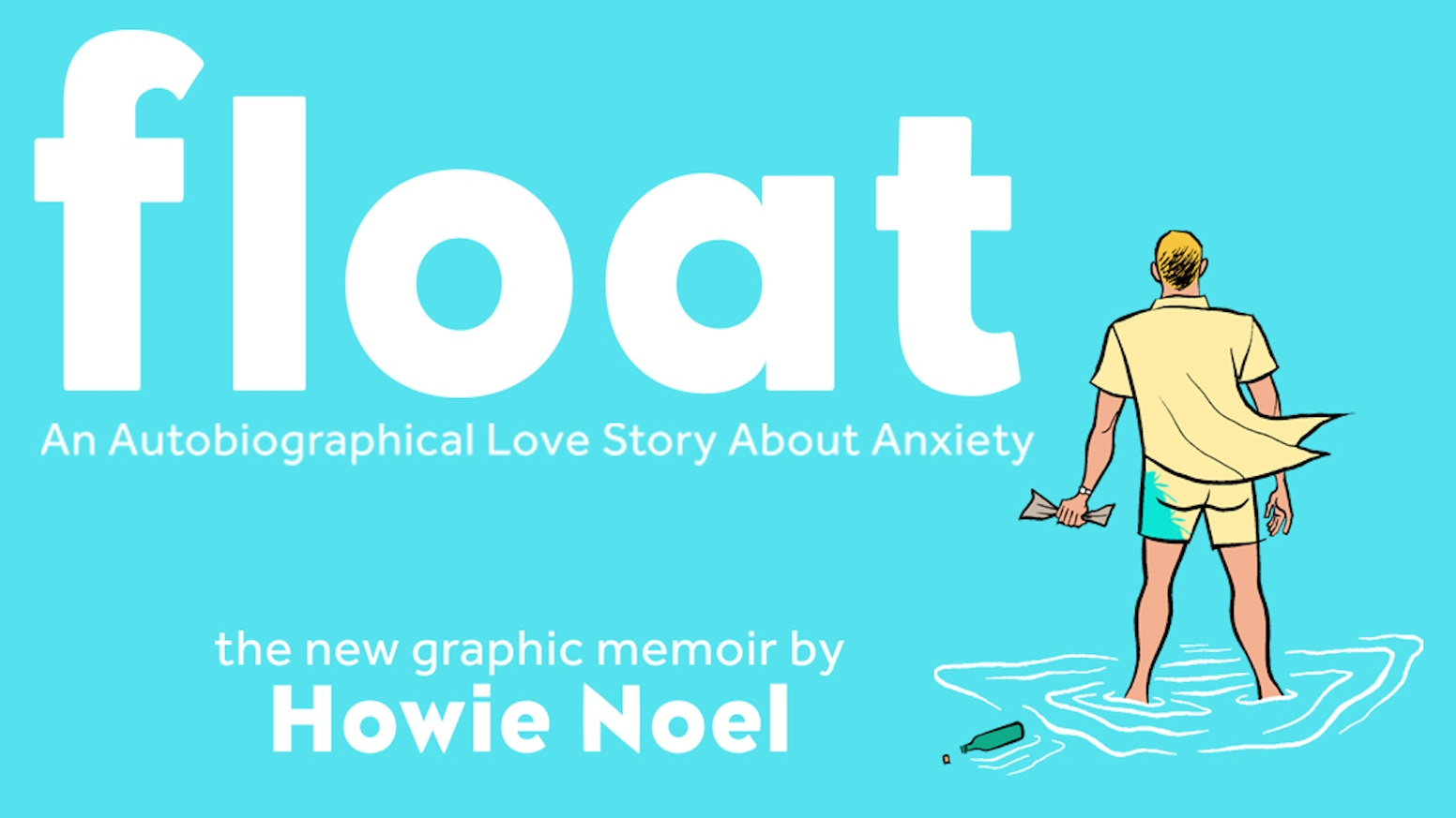 Float is a graphic memoir about my personal battle with generalized anxiety disorder.