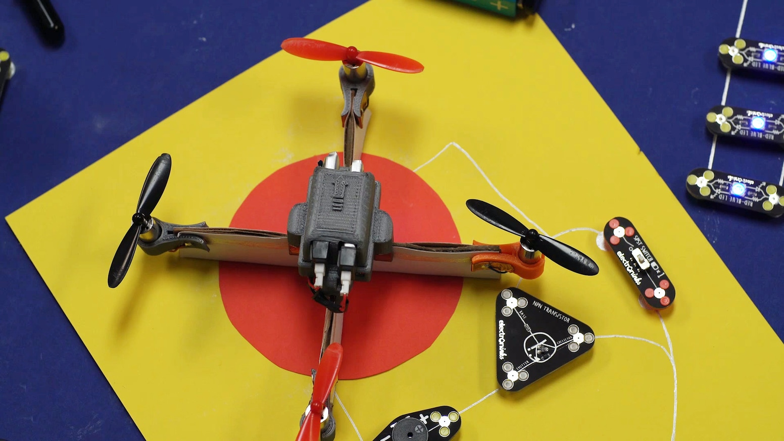 Circuit scribe diy electronic kits by electroninks incorporated our paper based electronics diy project kits using the circuit scribe pen to help creativity take flight with our drone solutioingenieria