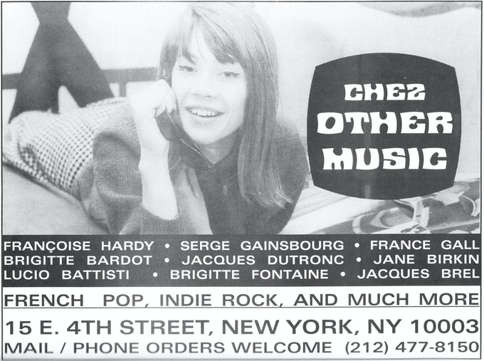 Other Music ad in Chickfactor from the late 90s