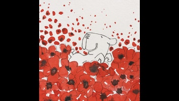 Poppy Dog Original Art.