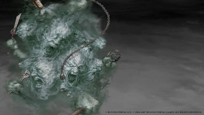 Poltergeist (Ghost) by artist Preston Stone