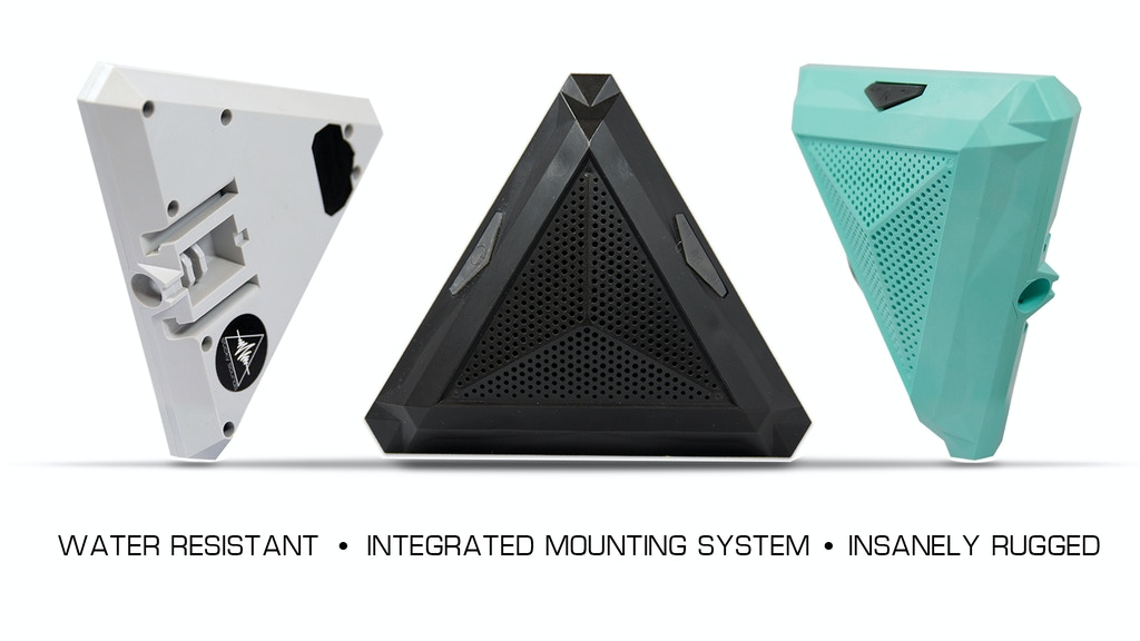 Sticky Sounds Speaker: Insanely rugged & mounts to anything project video thumbnail