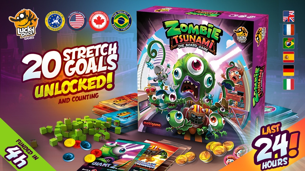 Zombie Tsunami - The Board Game project video thumbnail