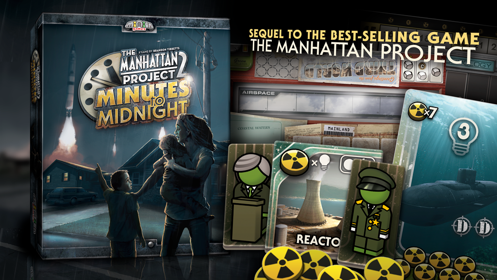 Manhattan Project 2: Minutes to Midnight - board game project video thumbnail