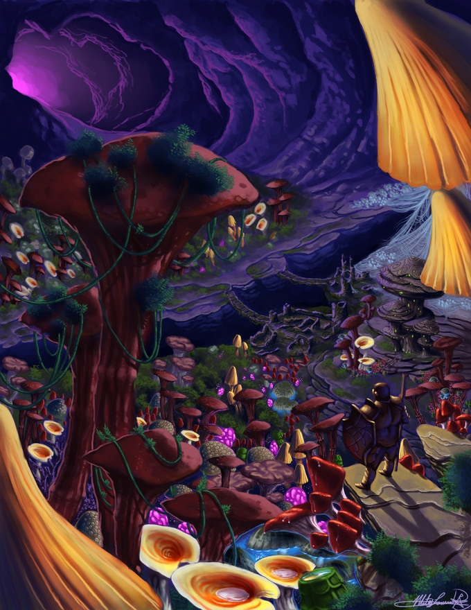 The fungi forests of the Underworld call to you...