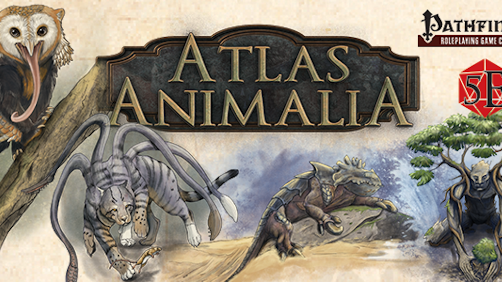 Atlas Animalia - A book of monster variants project video thumbnail