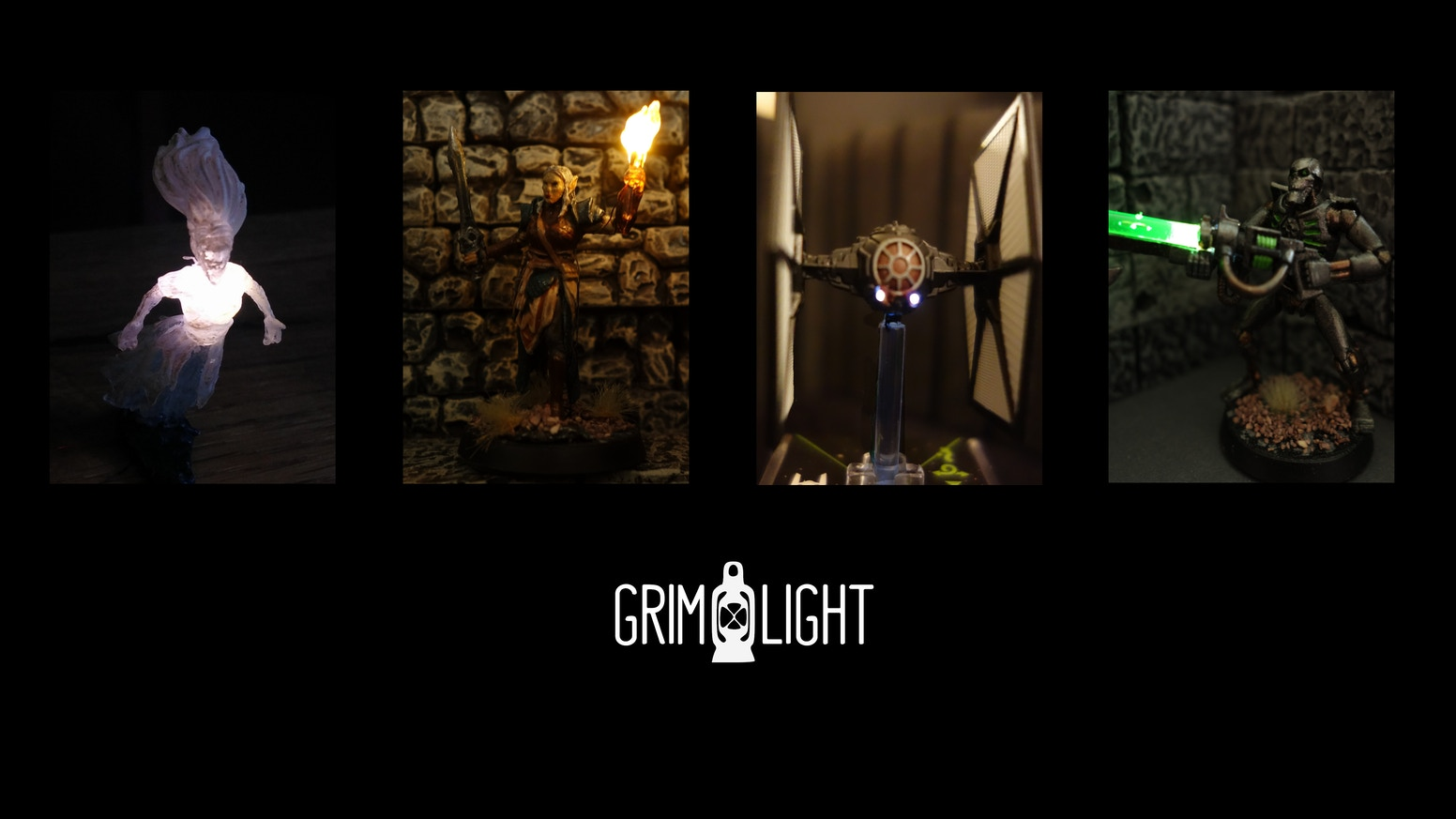 Grimlight: Tiny magnet-controlled lights for miniatures