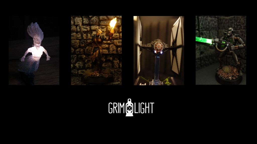 Grimlight: Tiny magnet-controlled lights for miniatures project video thumbnail