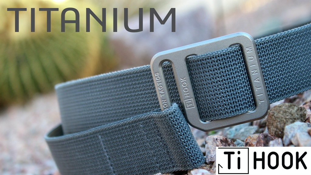 Ti Hook - The Titanium EDC Belt you never knew you NEEDED project video thumbnail