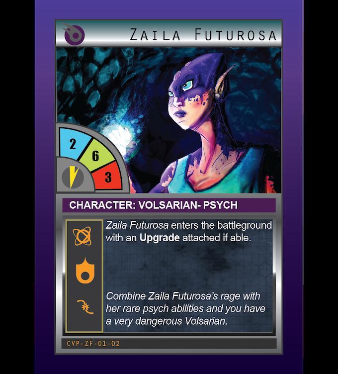 Zaila Futurosa: Pysch: Volsarian
