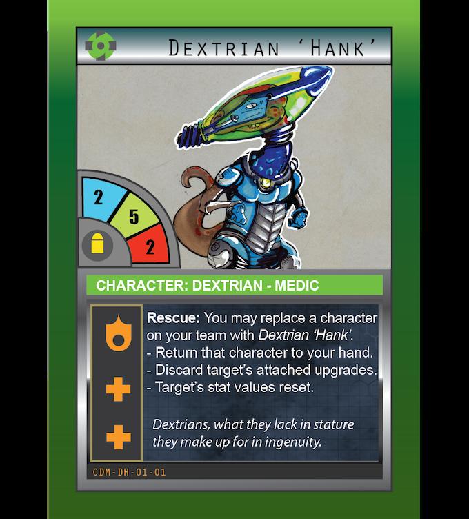 Dextrian 'Hank': Medic: Dextrain