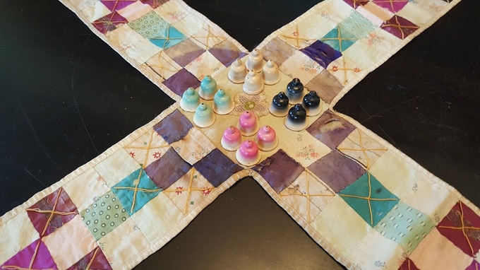 My family's Pachisi set: The inspiration for a lifetime of game design