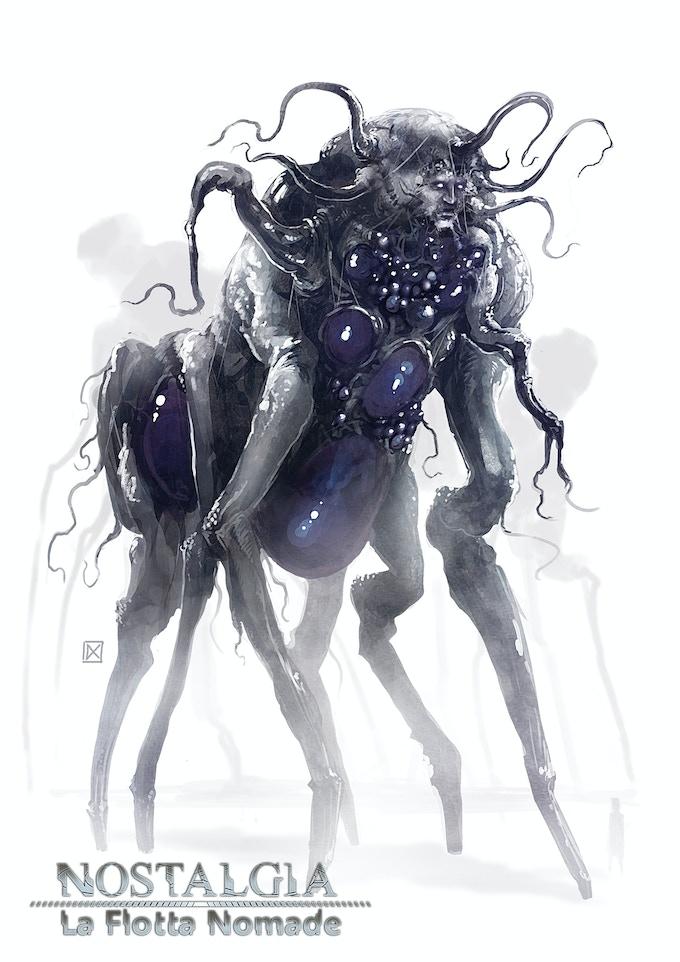 Strane creature popolano la Sfera dell'Aura, una dimensione con cui le Arche sono in simbiosi.