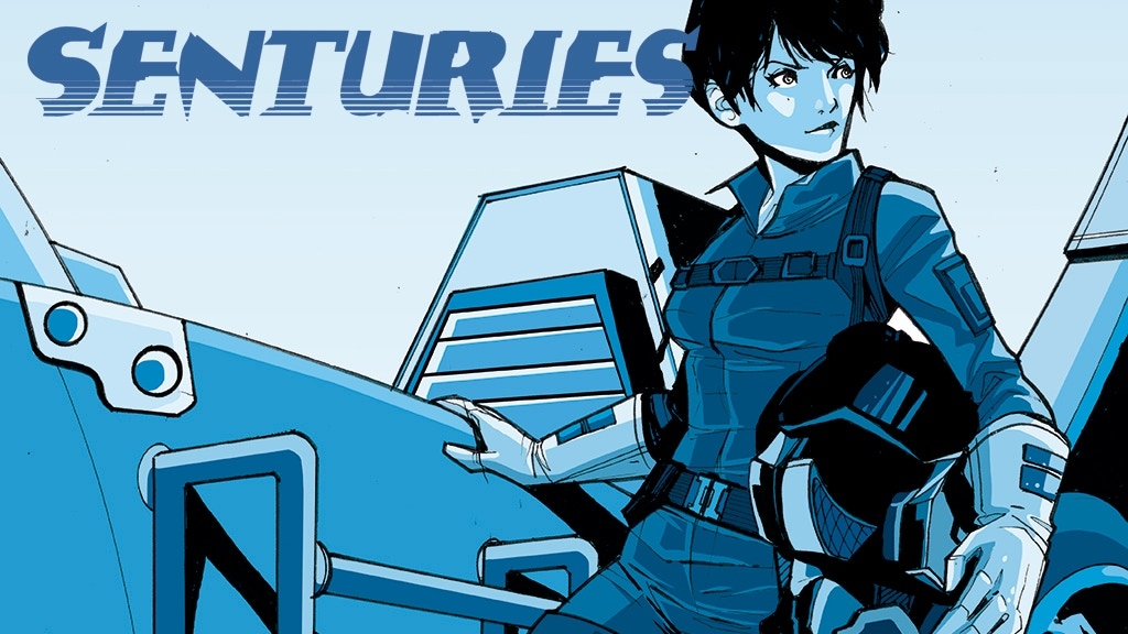 Senturies: A Comic Book Sci-fi Adventure project video thumbnail