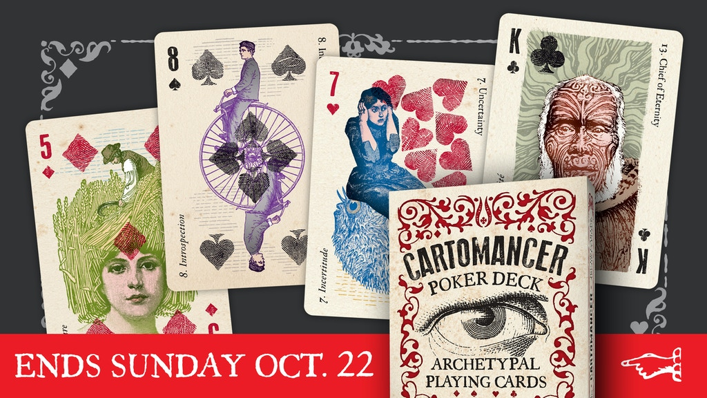 CARTOMANCER POKER DECK - Archetypal Playing Cards project video thumbnail