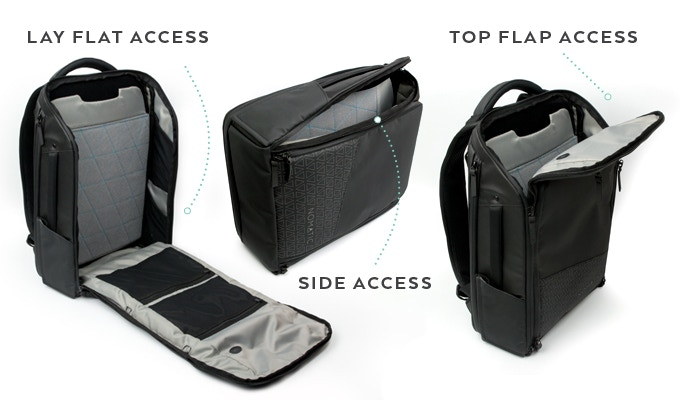 Both Bags Provide Access From All Sides