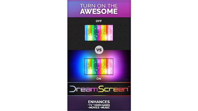 DreamScreen HD & 4K - Smart TV Backlighting for any HDMI TV