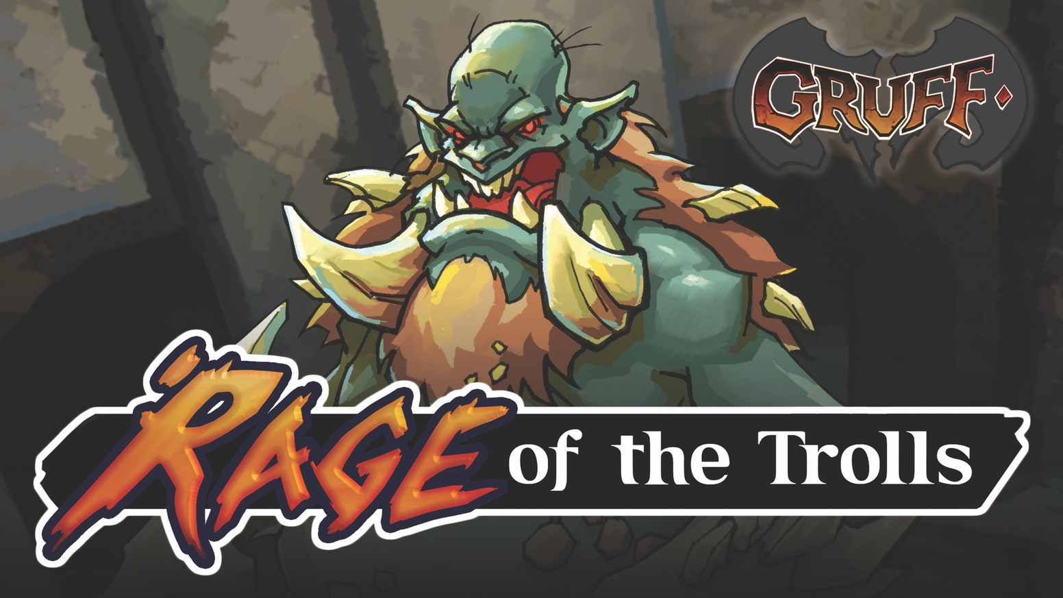 Rage of the Trolls is a tactical card game where players join forces using teams of monster goats to challenge troll boss-fights!