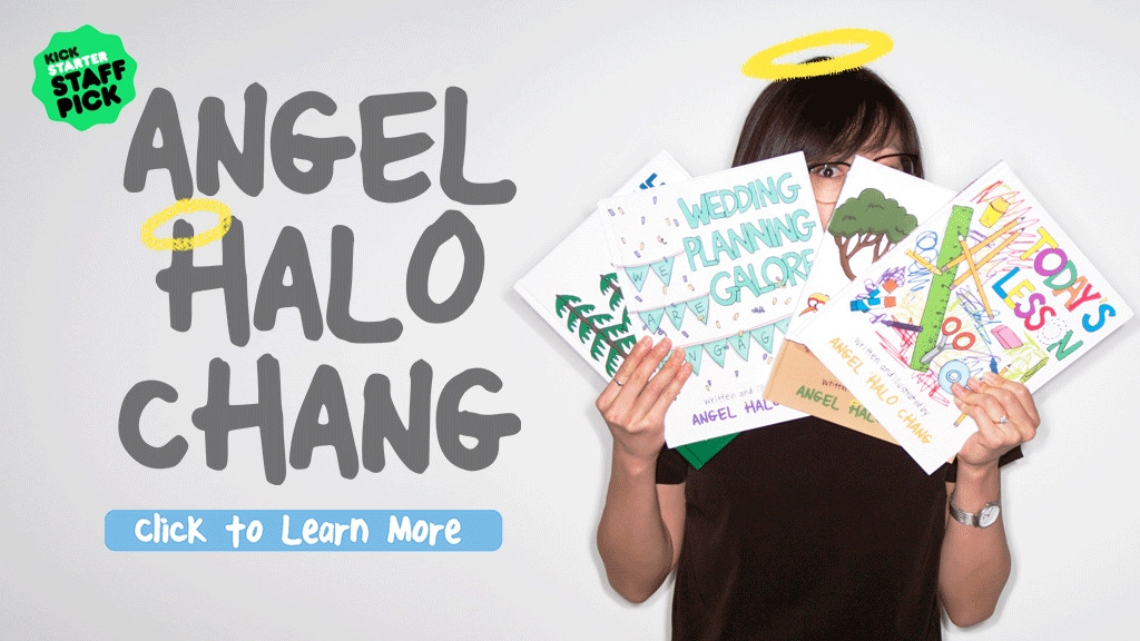 Angel Halo Chang's Official Book Collection project video thumbnail