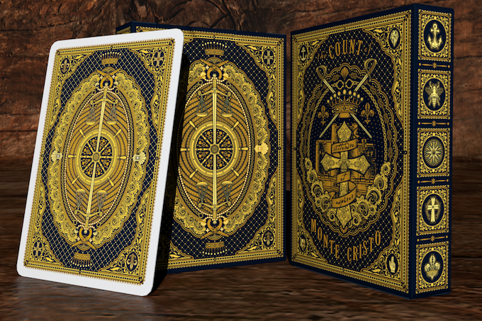 The Count of Monte Cristo Playing Cards Tuck & Back