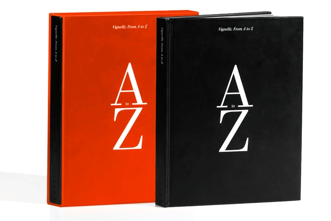 Vignelli: From A to Z Standard and Slipcase Editions