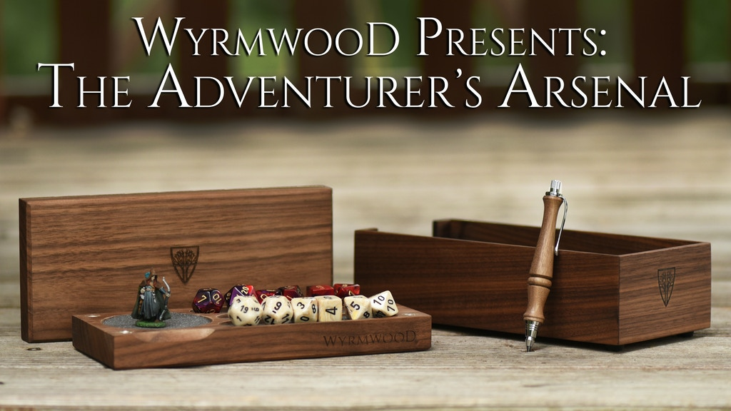 The Wyrmwood Adventurer's Arsenal project video thumbnail