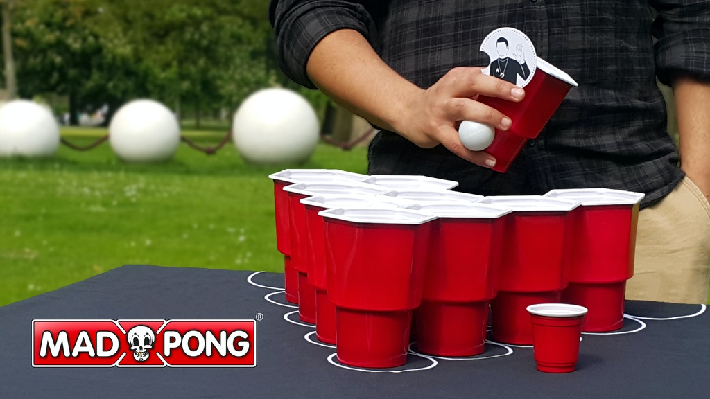 MadPong, the evolution of beer pong. project video thumbnail