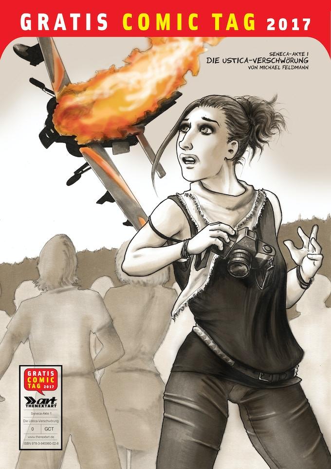 Cover des Gratis Comic Tag-Heftes mit der 24-seitigen Leseprobe