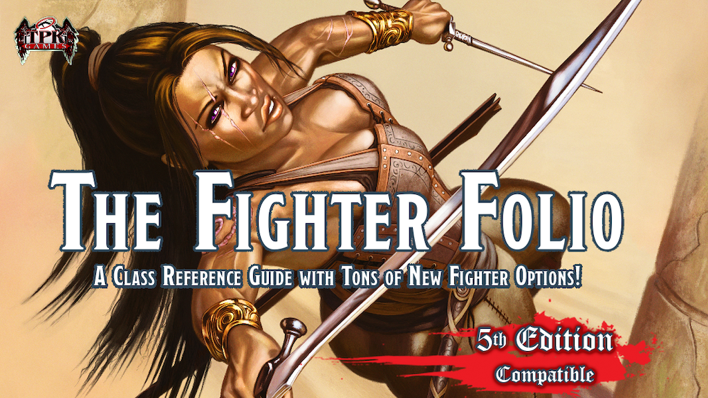 Fifth Edition Fighter Folio & Condition Cards project video thumbnail